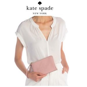 Sale⬇️‼️NWT Kate Spake Sienne Med Leather Wristlet